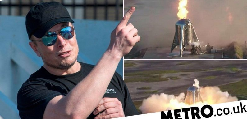 Elon Musk's rocket caught fire in an embarrassing premature conflagration