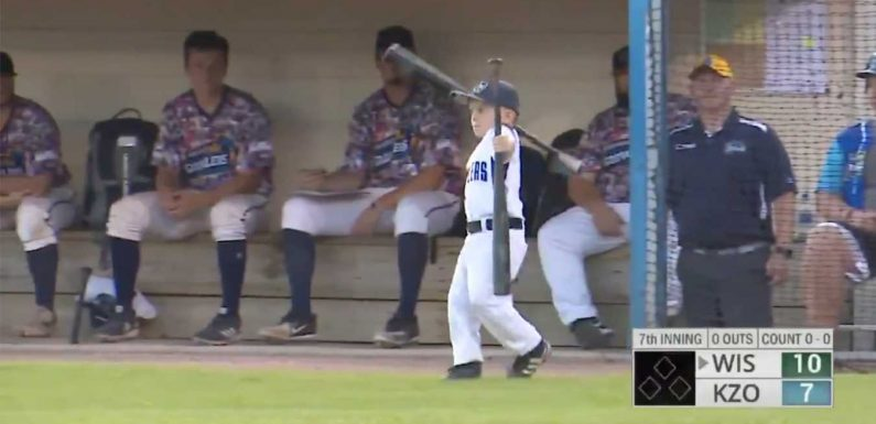 6-Year-Old 'Coach' Ejected from Summer College Baseball Game, Throws a Big (Adorable) Tantrum