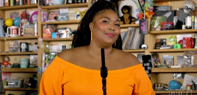 Twitter Goes NUTS Over Lizzo's Tiny Desk Performance! WATCH!