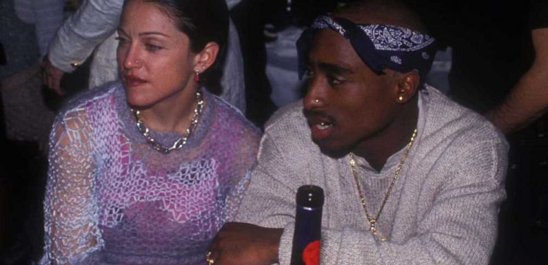 Madonna's 'older white woman' letter from Tupac will be sold