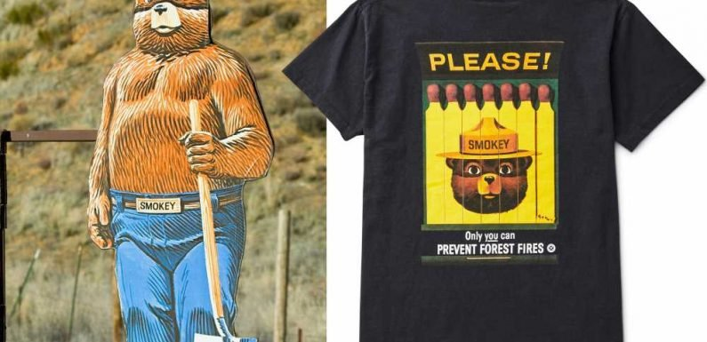 Smokey the Bear celebrates 75 years of fighting fire — with fashion