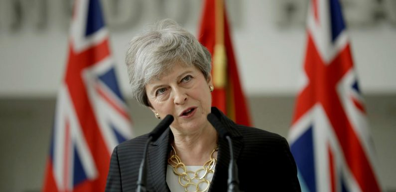 UK PM May says she will leave disappointed after Brexit failure