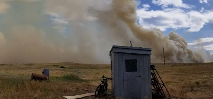 Evacuation ordered, state of local emergency declared in Cypress County as wildfire moves in