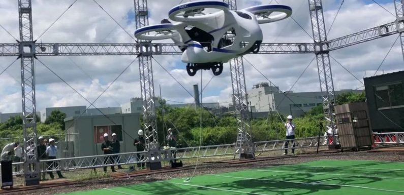 Flying car revealed in Japan – and it could be mass-produced by 2026