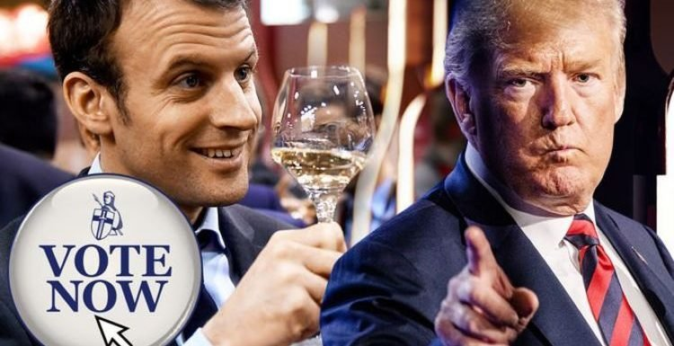 Trump vs Macron: Is Trump right to say US wine is better than French? EXPRESS.CO.UK POLL
