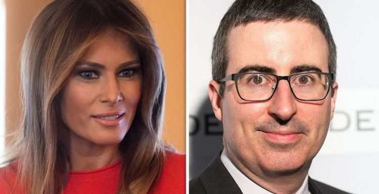 Melania Trump anger: Twitter in meltdown after John Oliver savages FLOTUS for being 'icy'