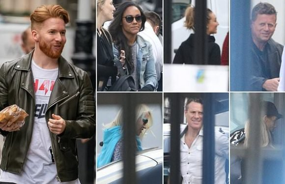 Strictly's Neil Jones pictured for first time since split from Katya
