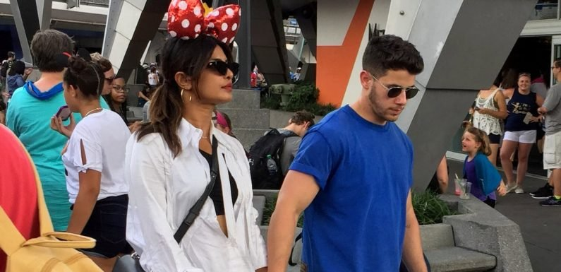 Priyanka Chopra's Sneakers Are Why They Call Disney World the Happiest Place on Earth, Right?