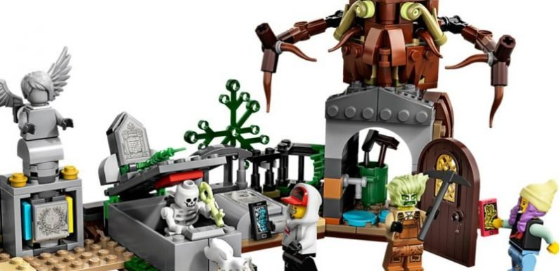 Lego's latest app-enabled kits are a spooky good time
