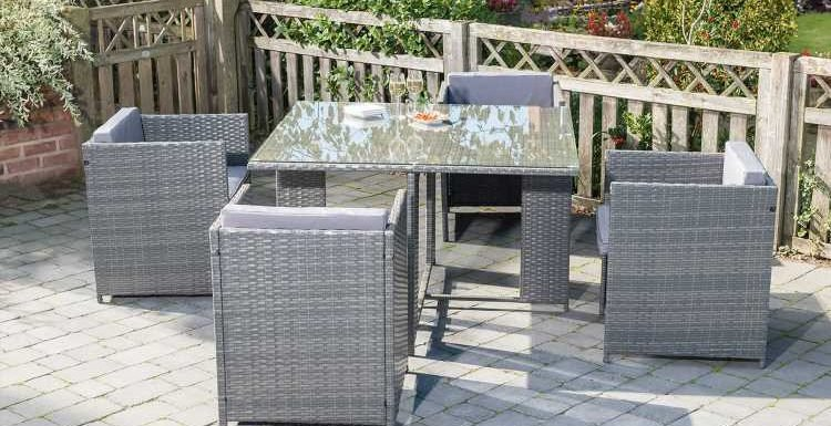 B&M slashes the price of its £200 patio furniture set to £80