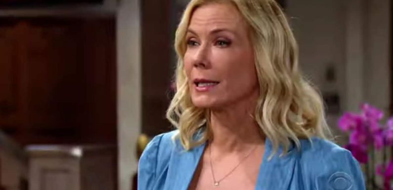 The Bold and the Beautiful spoilers: Will Thomas cost Brooke her life?