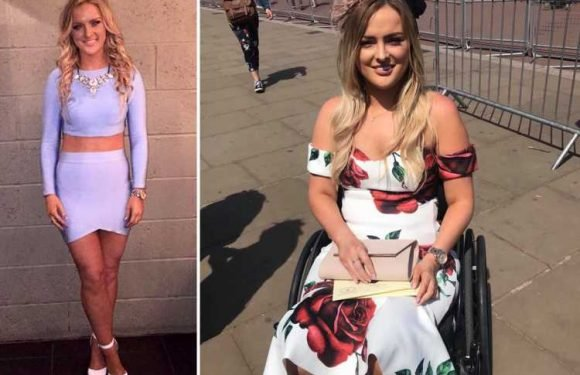 I woke up with a stiff neck – hours later I was totally paralysed – The Sun