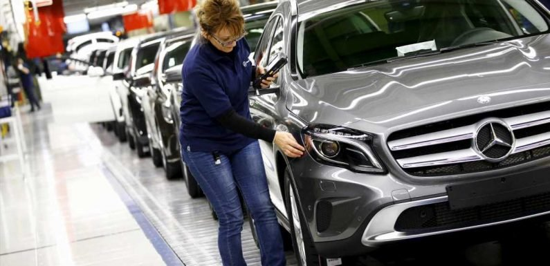 Germany's central bank warns EU's largest economy Germany is on the brink of recession as car manufacturing growth plummets and Brexit batters exports – The Sun
