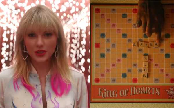 "The Board Games In Taylor Swift's ""Lover"" Music Video Were A Last-Minute Album Hint"