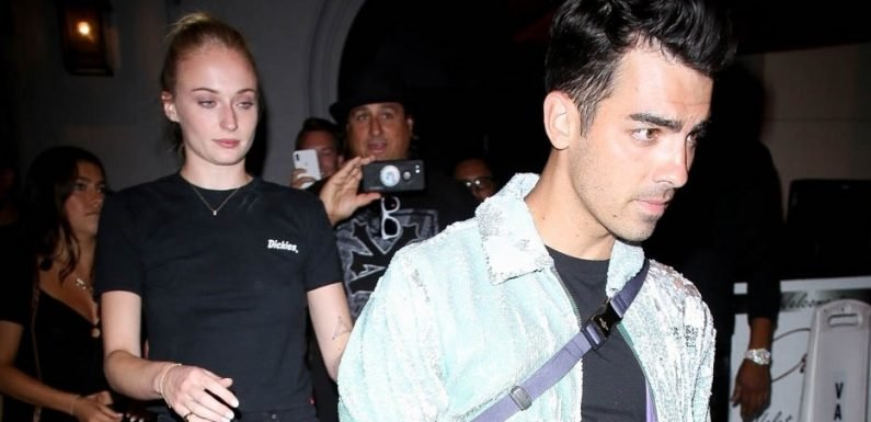 Jonas Brothers Celebrate Teen Choice Wins at Dinner with Sophie Turner