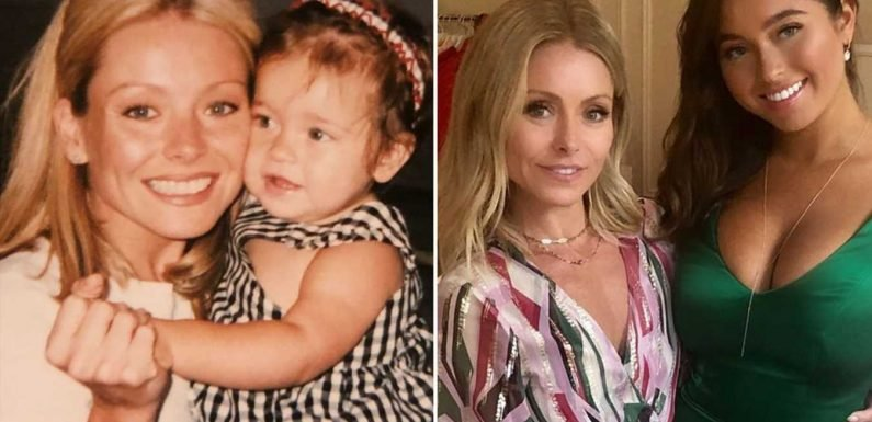 Lola Consuelos Is All Grown Up! See Kelly Ripa & Mark Consuelos' Daughter Go from Pre-K to Prom