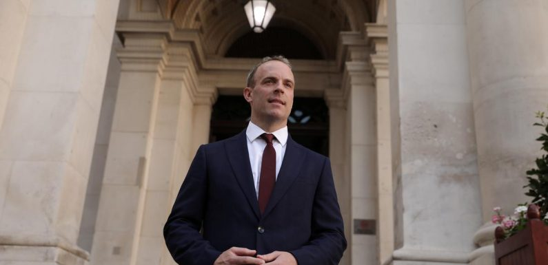 UK's Raab seeks to boost post-Brexit ties with the Americas