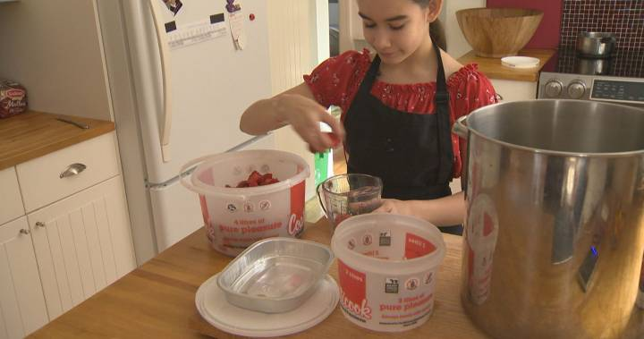 NDG 12-year-old finds sweet summer job with jam-making business
