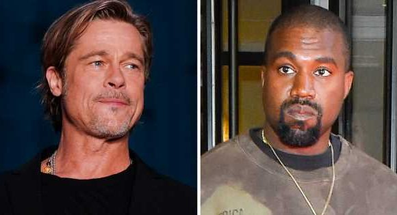 What Brad Pitt Really Thinks About Kanye West's Sunday Service