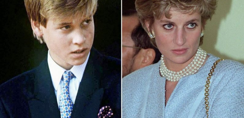 Prince William 'bullied over size of mum Princess Diana's breasts at Eton'