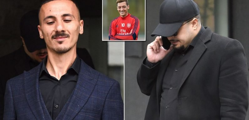 Arsenal star Mesut Ozil's security guard 'threatened by two men outside mansion'