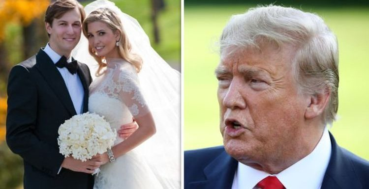Ivanka Trump: Donald Trump's 'shock' at daughter's wedding to Jared Kushner revealed