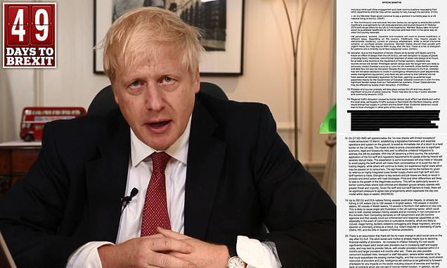Remainers threaten to EXPEL Boris Johnson from the Commons