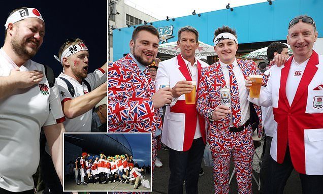 England rugby fans get a Japanese welcome 6,000 miles from home