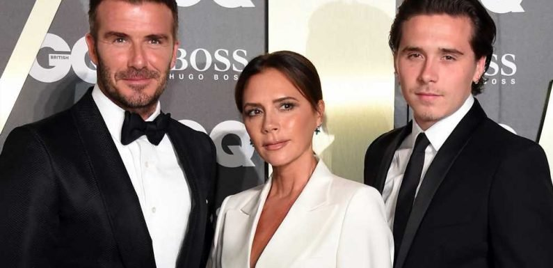 The Beckhams match in suits at 2019 GQ Men of the Year Awards