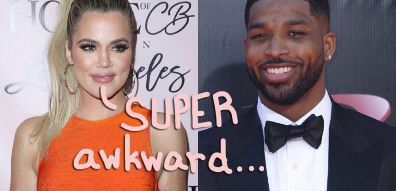 Tristan Thompson Tried To Kiss Khloé Kardashian Before True Thompson's Birthday Party! Dude…