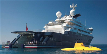 You Can Now Buy This Yacht That Comes With Two Helipads and a Submarine