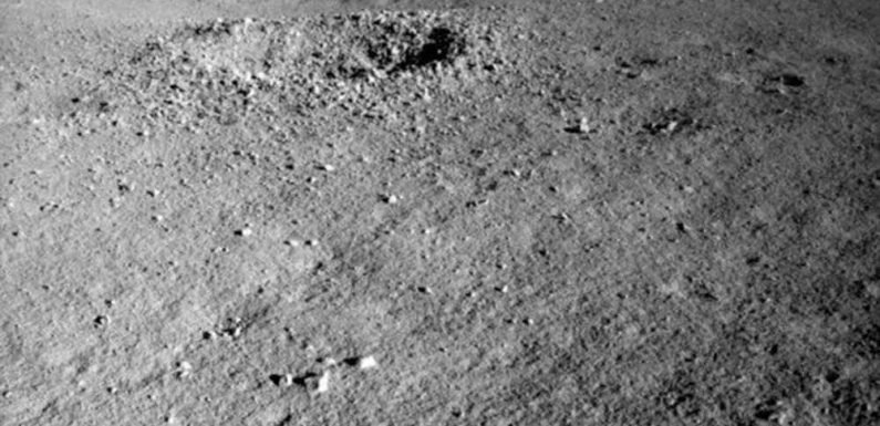 China finds mysterious 'shiny gel' on dark side of moon