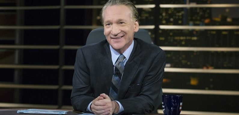 Maher mocks MSNBC's 'Never Trumpers': They're 'very far left' because 'look at who's giving them their paycheck'