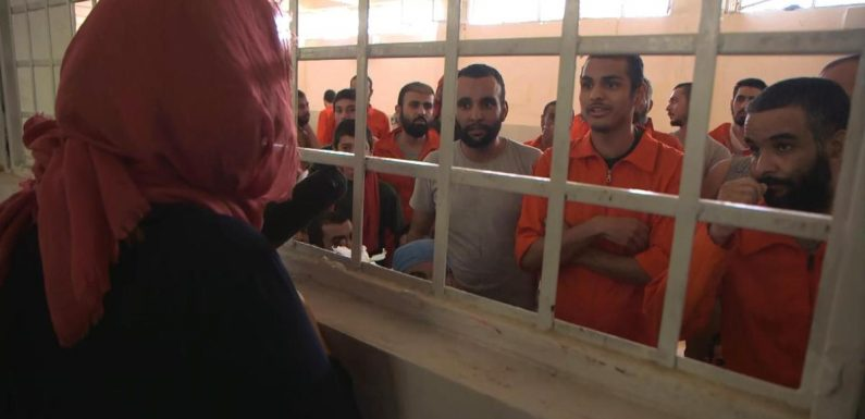 ISIS suspects in overcrowded Syrian prison tell CBS News they're Americans
