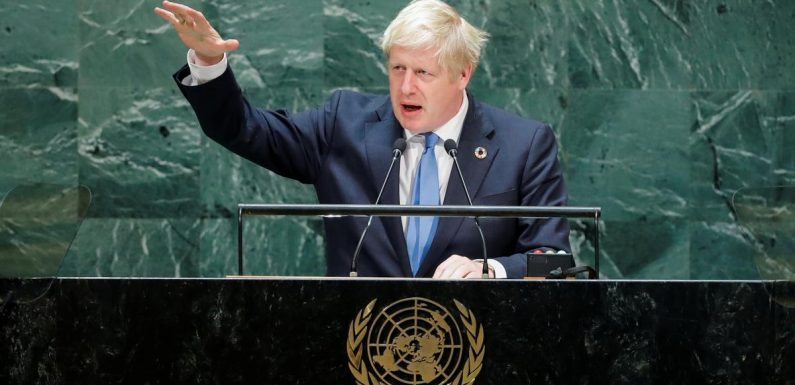 Johnson flies back to face UK parliament as Brexit chaos deepens