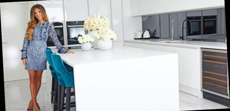 Inside Megan McKenna's stunning home as she competes for a record deal on The X Factor: Celebrity
