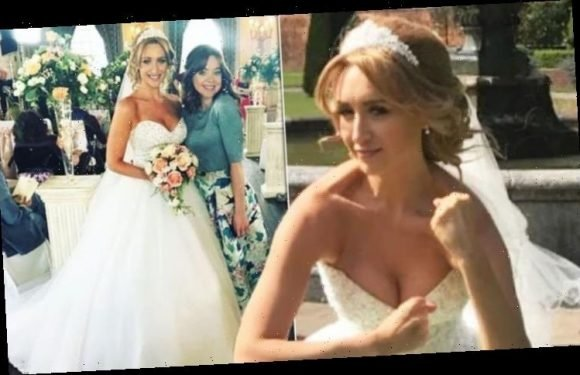 Catherine Tyldesley wedding dress revealed – inside Strictly Come Dancing star's nuptials