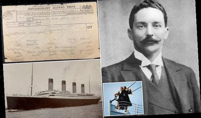 Documents found from body of Titantic's most controversial passenger