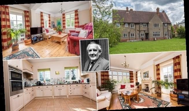 House where JRR Tolkien lived when he wrote The Hobbit up for sale