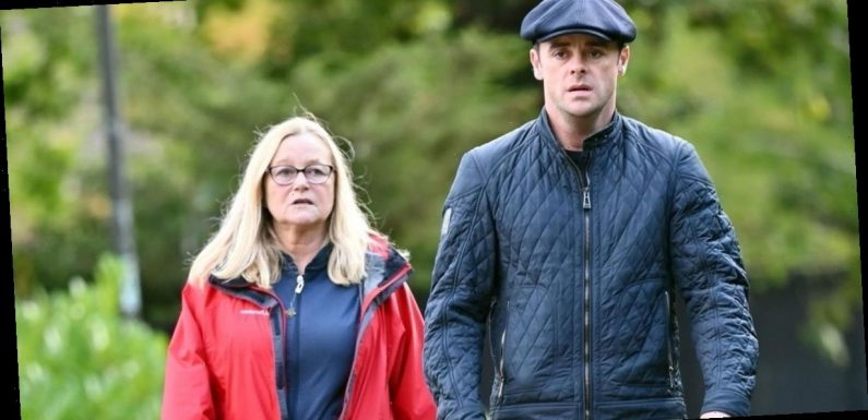 Ant spends time with his mum before jetting to Australia for I'm A Celeb