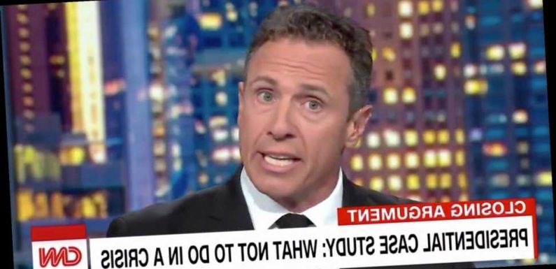 Chris Cuomo Shares A Republican Quote That Could Haunt GOP Lawmakers