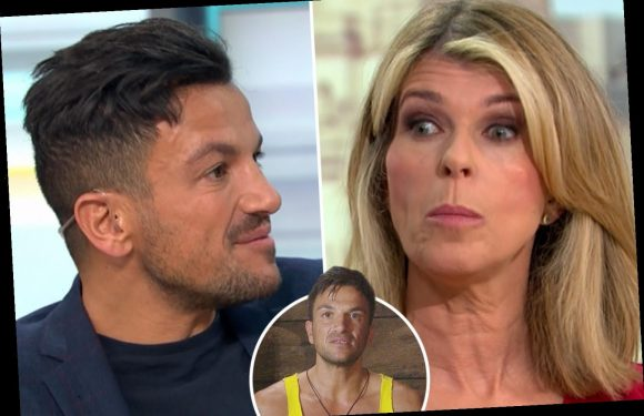 Peter Andre offers Kate Garraway I'm A Celeb jungle advice as flustered GMB star refuses to discuss she'll star – The Sun
