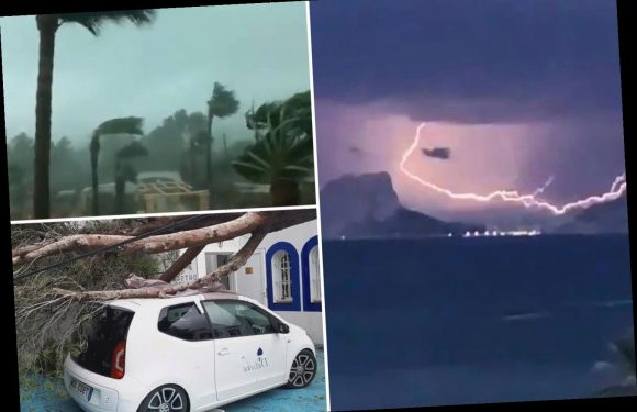 Ibiza TORNADO and freak Spain flash floods kill one, with mum and son swept away by floodwaters missing feared dead – The Sun