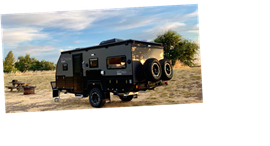 This Off-Road Trailer Expands Into a Family-Size Camper