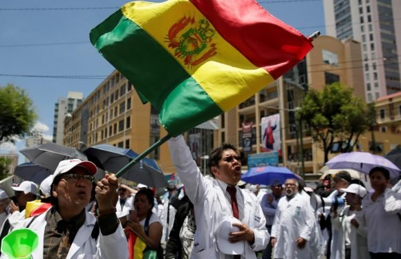 Bolivia election count sparks backlash, government offers audit