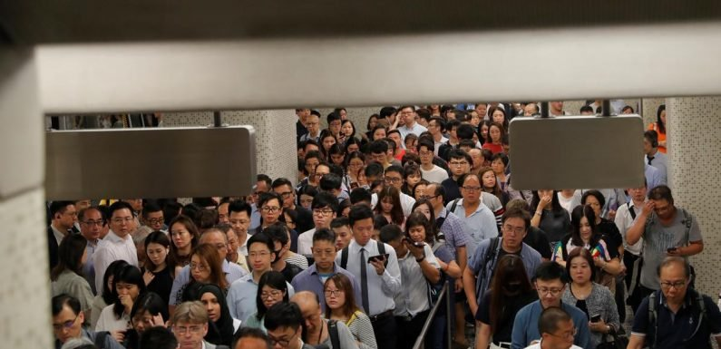 More Hong Kong protests planned as metro limps back to business