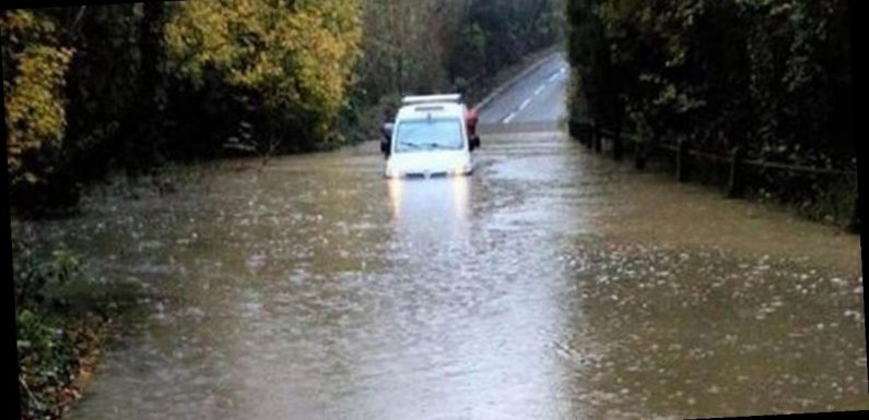 Woman dies after being 'swept away' by floodwater in Derbyshire