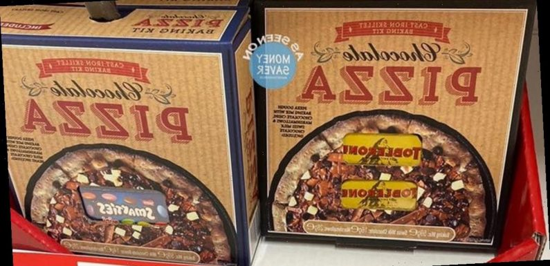 Toblerone and Smarties chocolate pizza goes on sale in Asda for £8