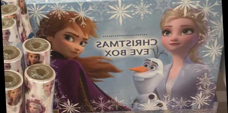 Asda is selling Frozen Christmas Eve boxes for just £2.50 – The Sun