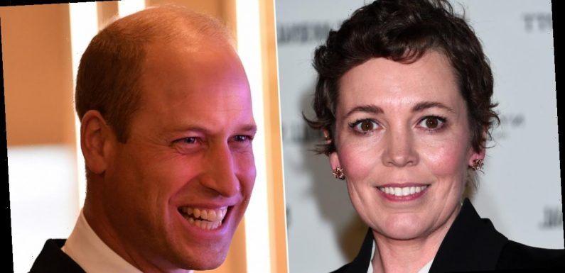 Here's What Happened When Olivia Colman Asked Prince William If He Watches The Crown